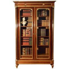 French 19th Century Mahogany Bookcase