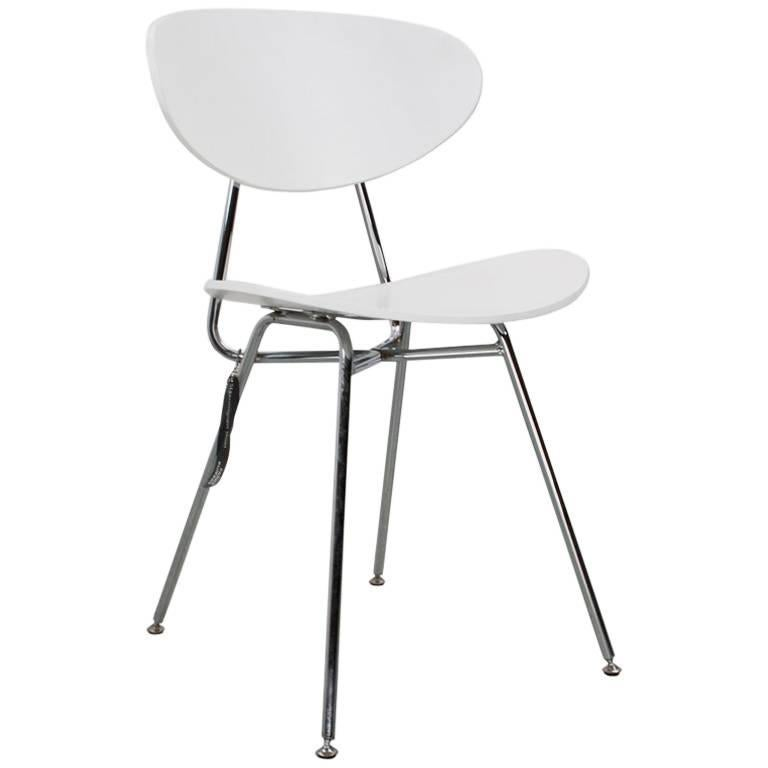 Dining or Office Chair Re-Edition Dutch Modernist Design by Rob Parry, 1955