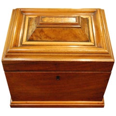 Walnut Tea Caddy