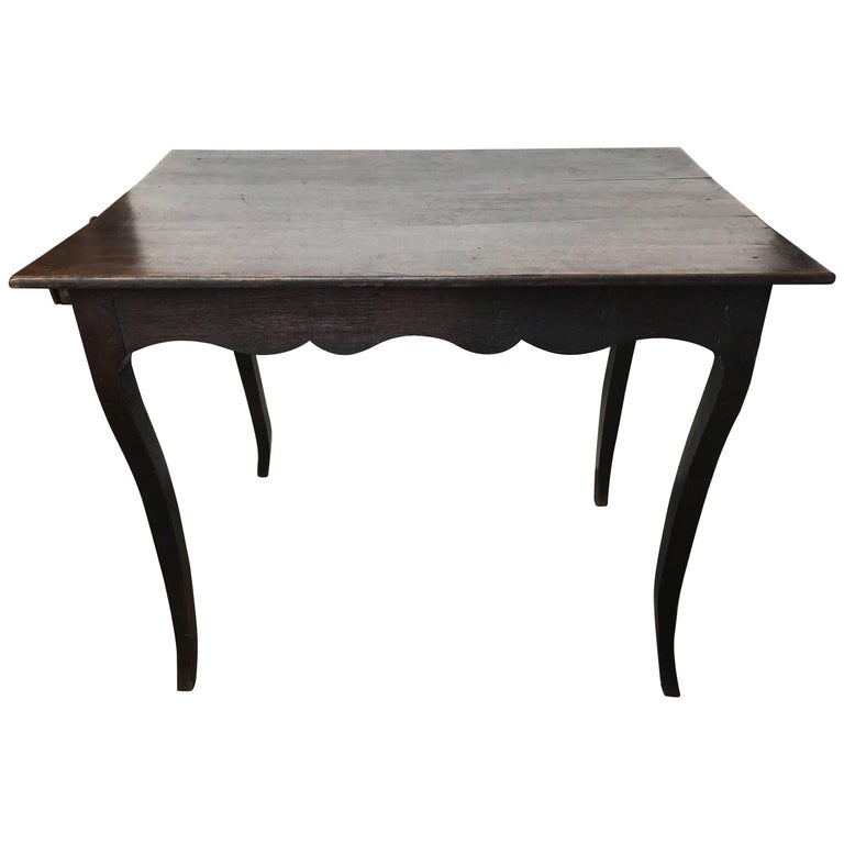 19th Century French Oak Work Table