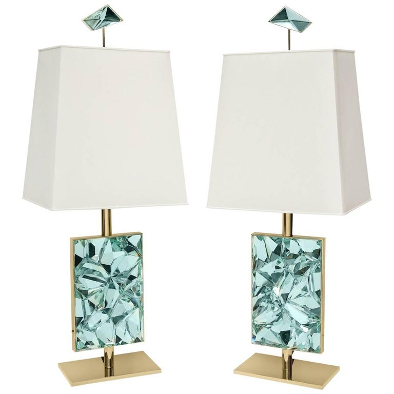 Ghiró Studio Pixel table lamps, 2017. Offered by Donzella