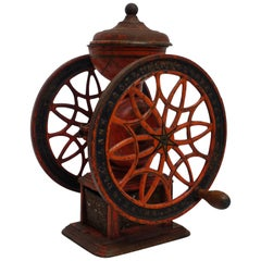Antique Coffee Grinder, American, 19th Century