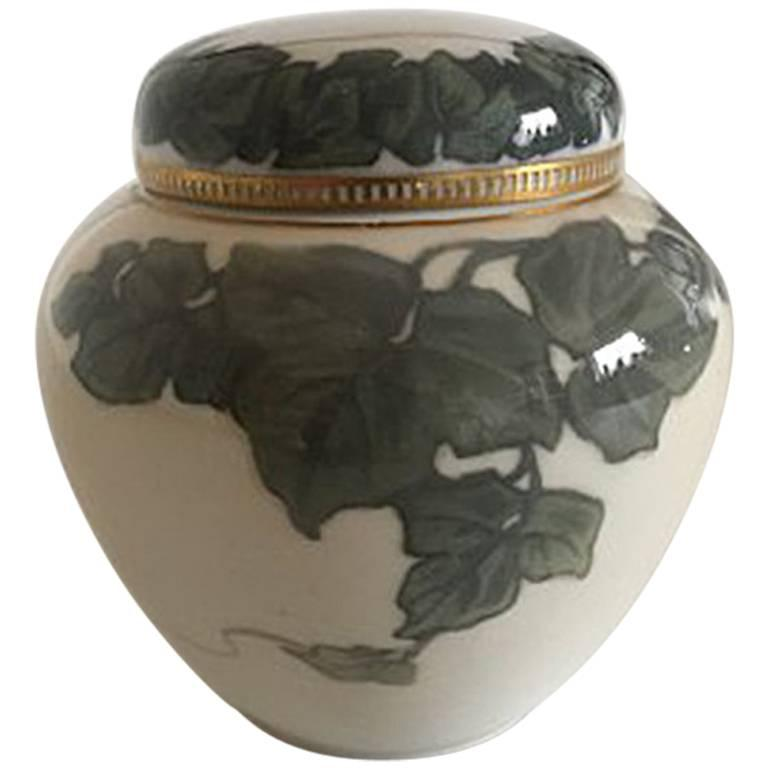 Royal Copenhagen Art Nouveau Lidded Vase #1771/525