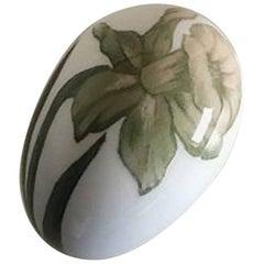 Royal Copenhagen Art Nouveau Egg #540