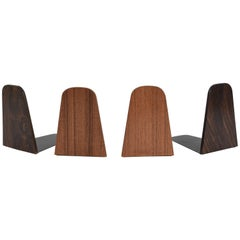Danish Teak Bookends Attributed to Kai Kristiansen