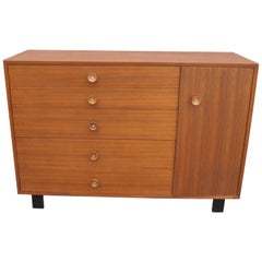 Walnut Dresser or Cabinet, Model 4935 by George Nelson for Herman Miller