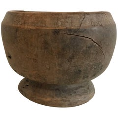 20th Century Primitive African Wooden Bowl
