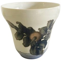 Bing & Grondahl Art Nouveau Vase No. 8436/298 by Clara Nielsen