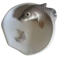 Royal Copenhagen Bowl with Fish #619