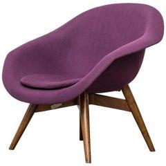 Mid-Century Modern Bucket Lounge Chair by Miroslav Navrátil for Vertex