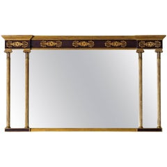 Horizontal Regency with Faux Rosewood Background