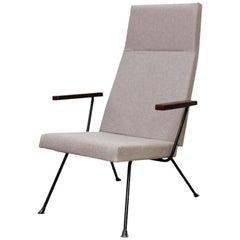 Dutch Design Minimalist A.R. Cordemeyer Lounge Chair Model 1410 by Gispen