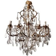Antique Crystal Chandelier Antique Ceiling Lamp Big