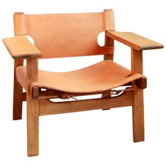 Spanish Chair by Børge Mogensen for Fredericia, Denmark, Model nr 2226