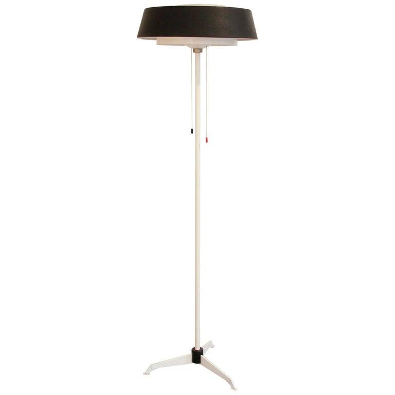 Dutch Minimalist Floor Lamp by Niek Hiemstra for Evolux Model ST 7128/A