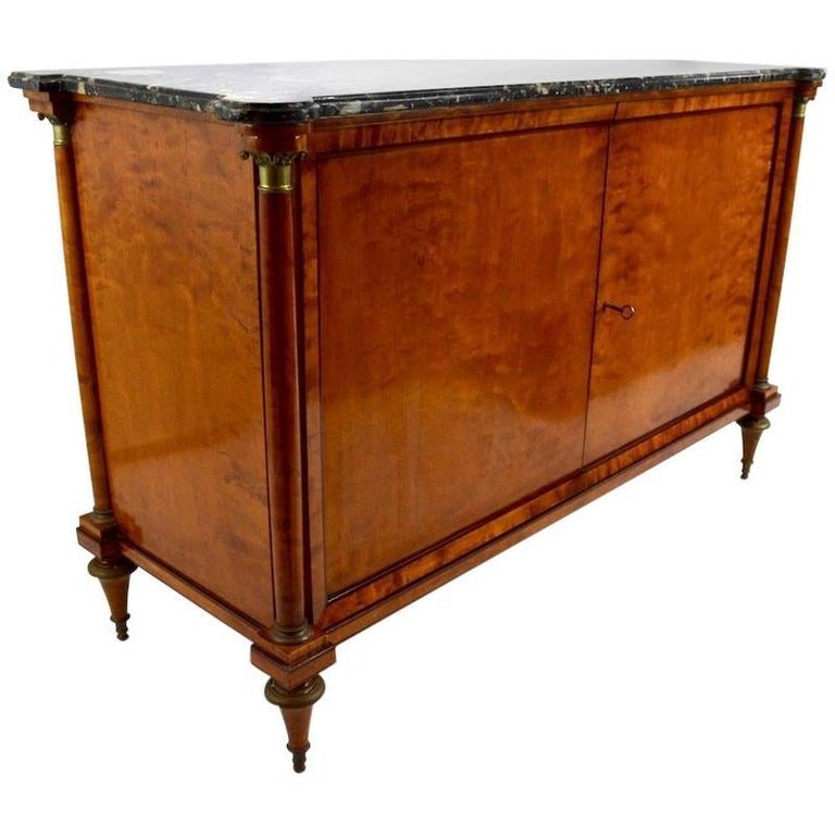 Directoire Style Marble-Top Commode For Sale
