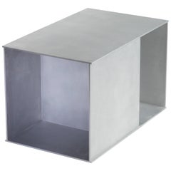 Ratio Table in Waxed and Polished Aluminium Plate by Jonathan Nesci
