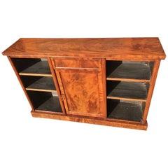 19th Century Mahogany Bookcase, English, circa 1860