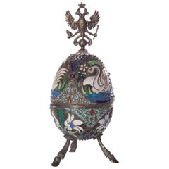 Russian Faberge Style Easter Egg
