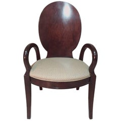 Rosewood Unknown Designer Chair, 1970s
