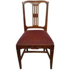 Late 18th Century Dutch Oak Louis XVI Chair