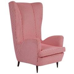 Tall Wingback Armchair