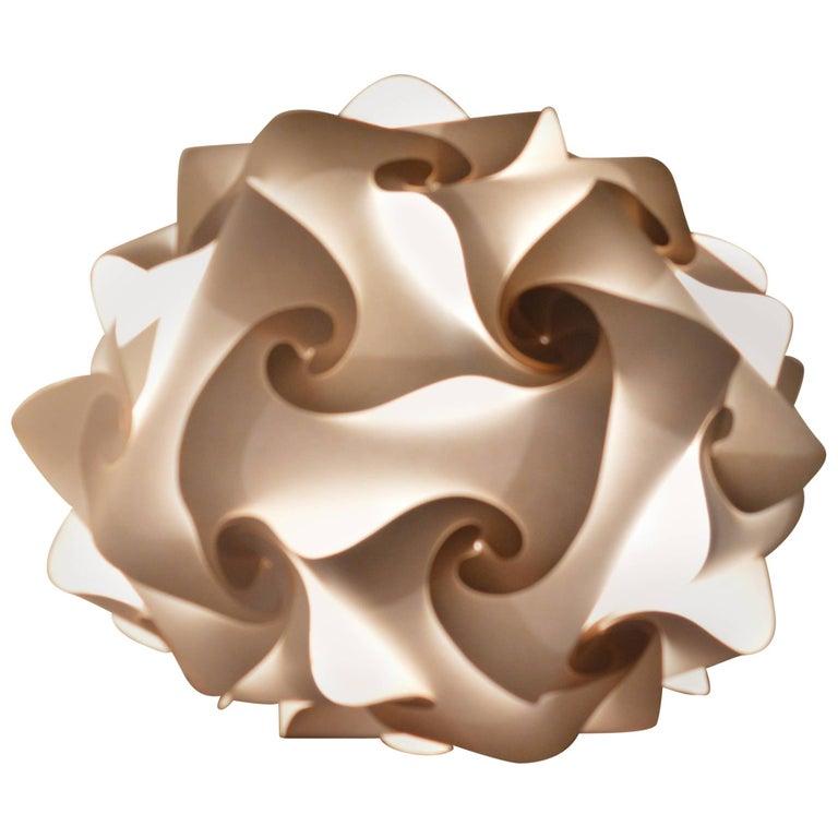 Midcentury Pendant Light  Designed by Holger Strøm, Denmark, 1970s