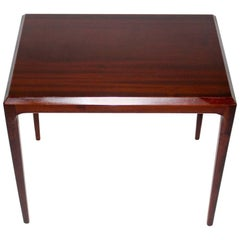 Rosewood Side Table by Johannes Andersen, circa 1963, Denmark