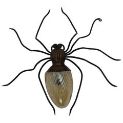 Spider Wall Lamp, 1950s, Italy