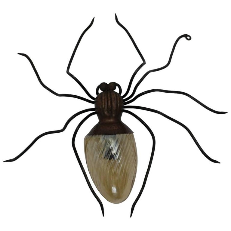 Spider Wall Lamp, 1950s, Italy For Sale