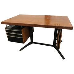 """""""Linha Cortez"""" Desk by Daciano da Costa, Portugal, 1960s"""