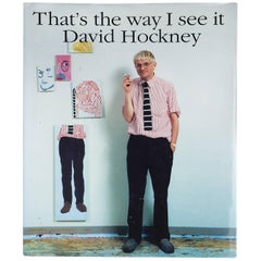 """David Hockney – That's The Way I See It"" Book"