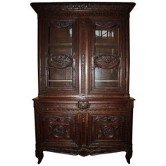 19th Century French Buffet Deux Corps
