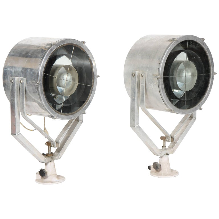 Pair of Articulated Boat Projectors
