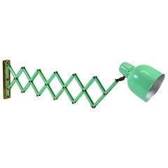 Italian Midcentury Scissor Wall Lamp