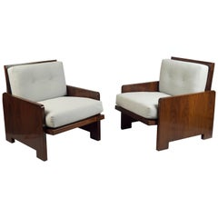 Pair of Armchairs, France, 1960s