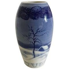 Bing & Grondahl Christmas Vase from 1917