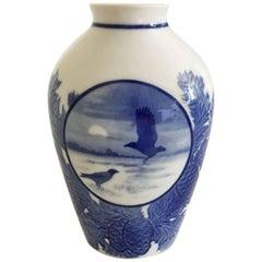 Bing & Grondahl Christmas Vase, 1925