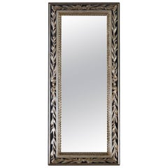 Louis LXVI Antique Silver Leaf Mirror