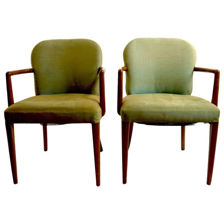 Pair of Armchairs after Robsjohn-Gibbons 1