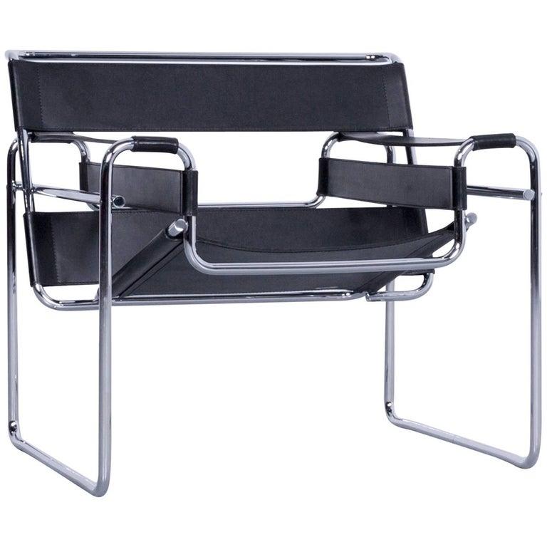 Knoll International Wassily Designer Armchair By Marcel
