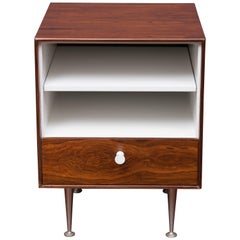 George Nelson Thin Edge Rosewood Nightstand