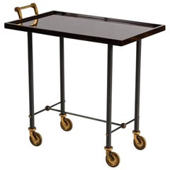 Maison Leleu, Rolling Bar Cart, France, C. 1960