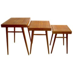 Pair of Nesting Stacking Tables