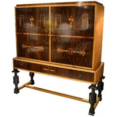 Carl Malmsten Cabinet on Stand
