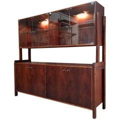 Modernist Walnut Sideboard