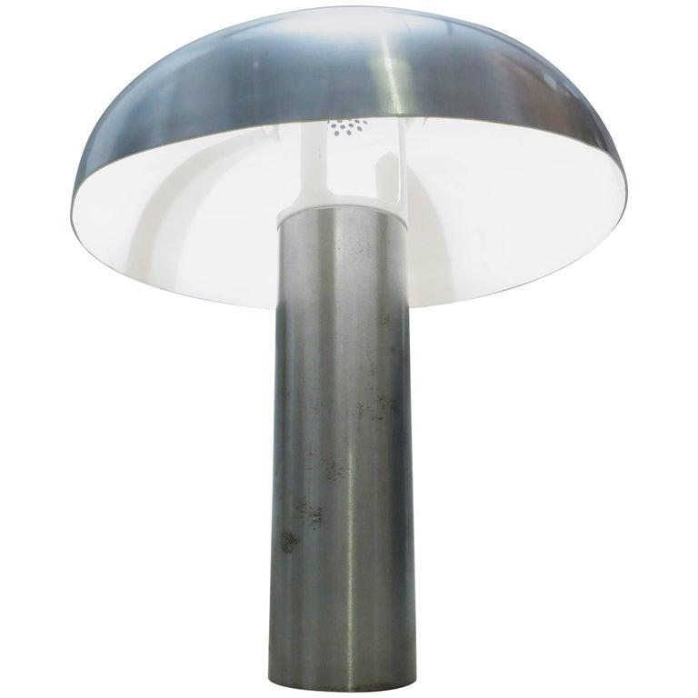 Large French 1970s Mushroom Lamp