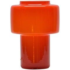 Orange Luxus Lantern Table Lamp, Maximalist Abba Pop Art Panton Scandinavian