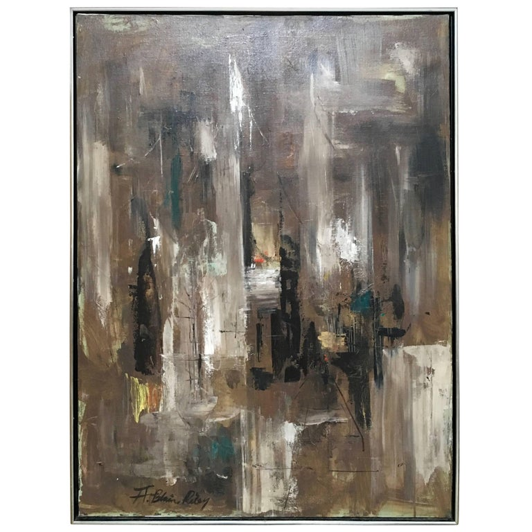 California Abstract Painting by A. Blaine Riley