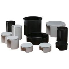 """""""Quasitondo"""" Ceramic Set by Ambrogio Pozzi for Ceramiche Pozzi"""